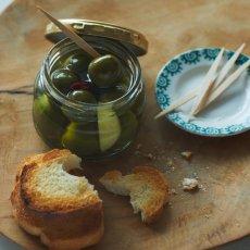 画像4: 〜早摘みならではの歯ごたえフレッシュな味わい〜 グリーンオリーブの実 (4)